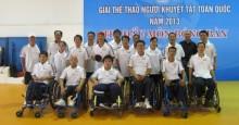 Đội tuyển bóng bàn người khuyết tật thành phố Hồ Chí Minh